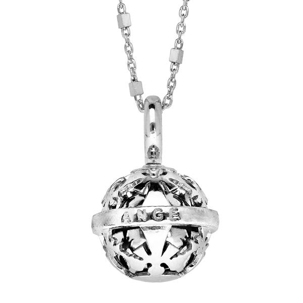 Collier argent «Bola»